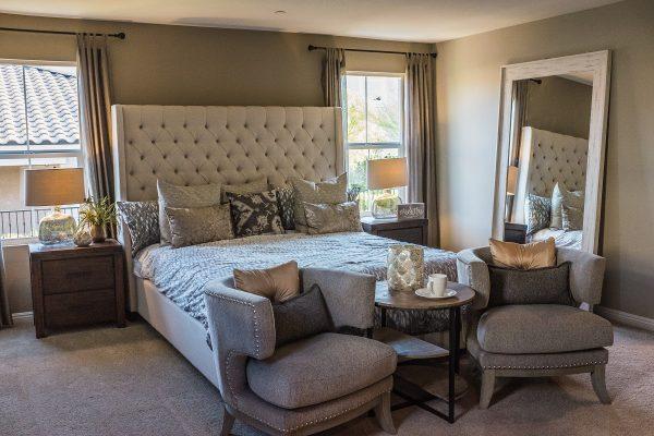 bakırtaş inşaat yatak odası ev tadilat dekorasyon spot asma tavan alçıpan